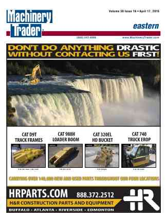 Machinery Trader Cover