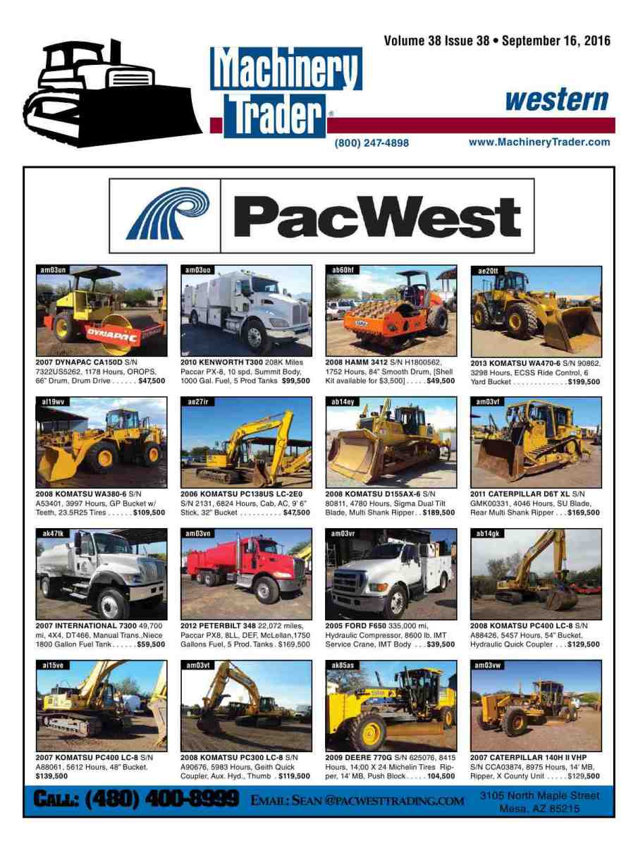 Machinery trader publicscrutiny Choice Image